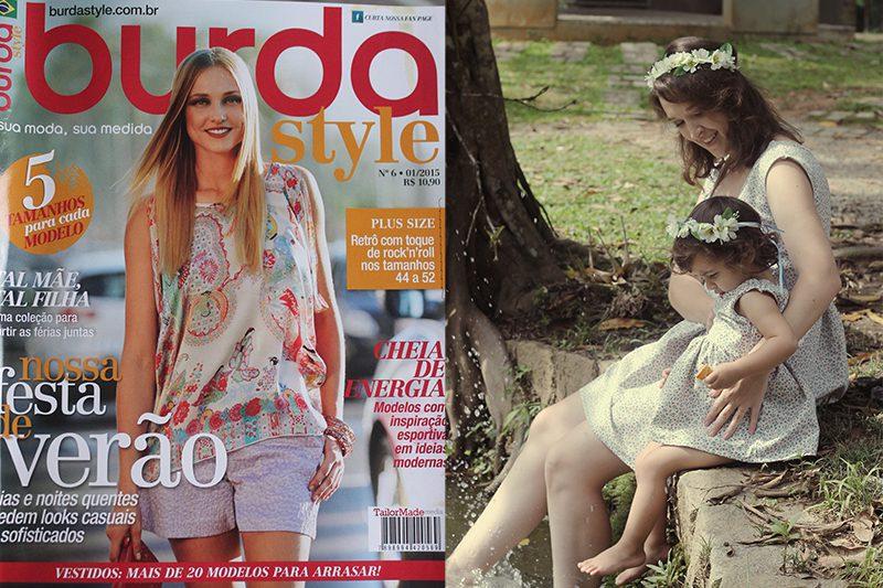 moda mãe e filha burda style