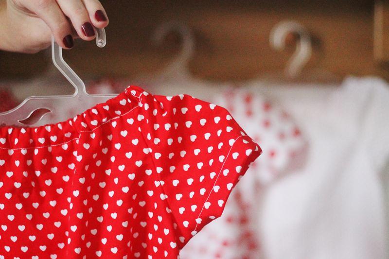 vestidos em algodão para as meninas do sertão