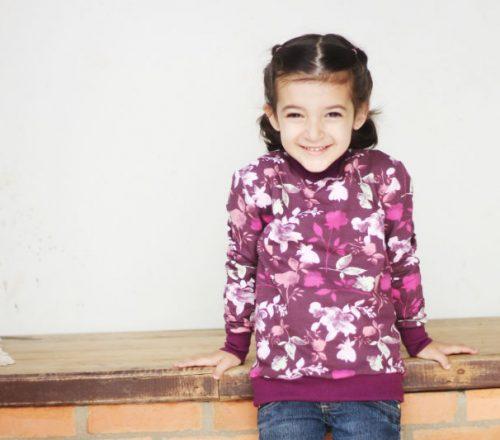 casaco de moletom infantil
