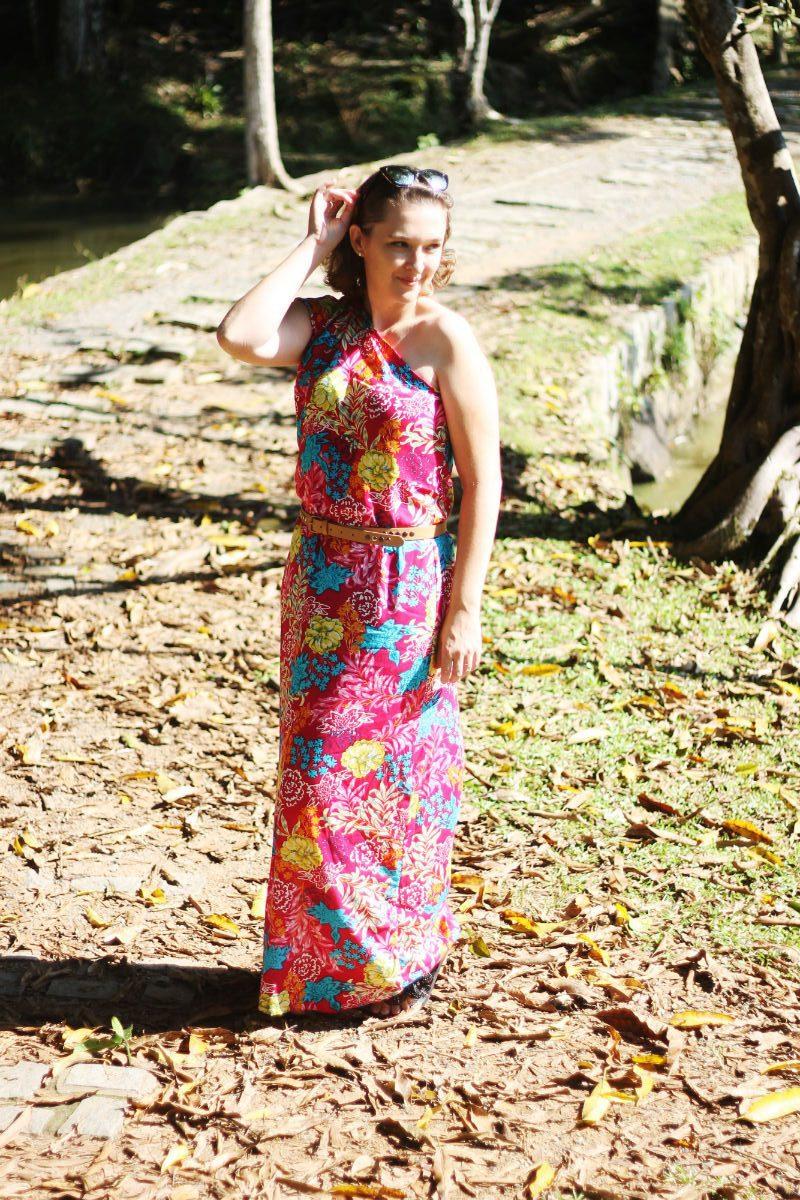 vestido longo passo a passo