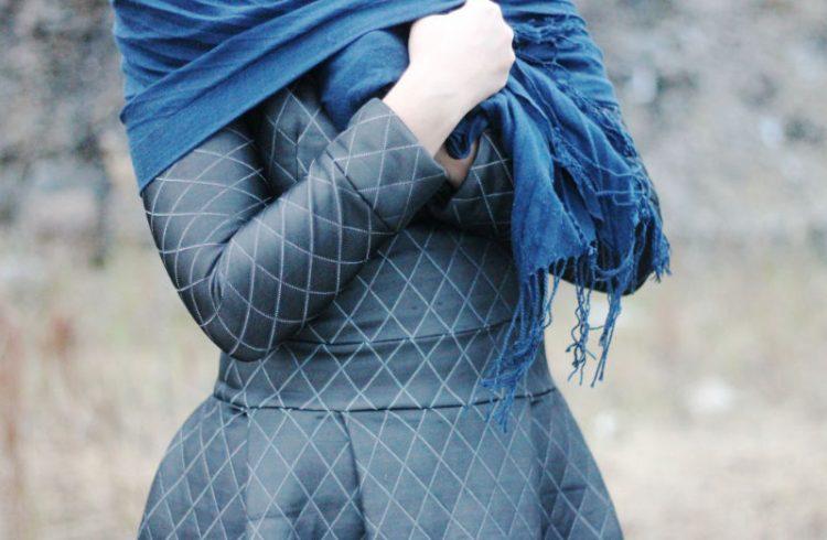 casaco vestido