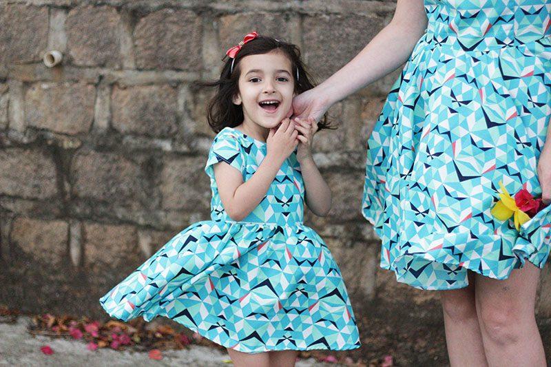 vestido infantil passo a passo
