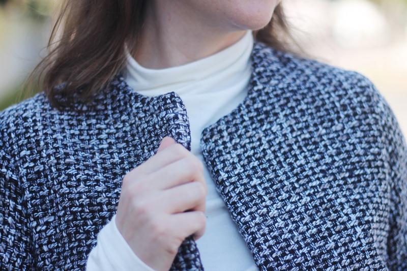 molde casaco chanel