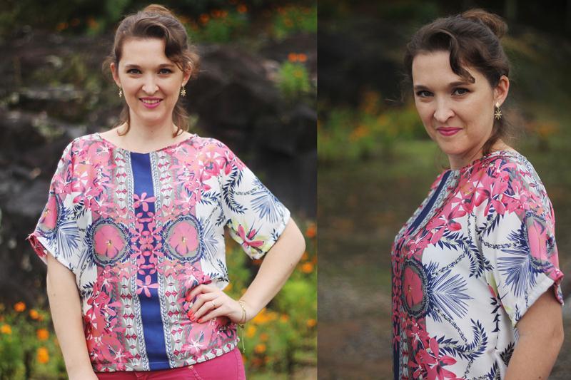 blusa fácil molde grátis