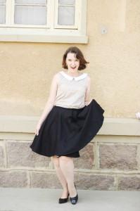 blusa retrô feminina