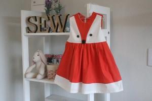 vestido raposa infantil - aprenda a costurar