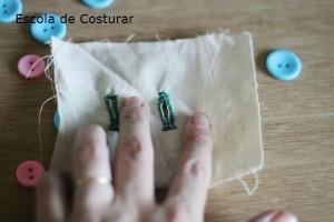 como fazer casinha de botão na mão - escola de costurar