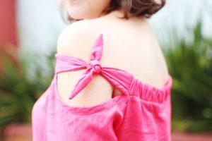blusa ciganinha com manga