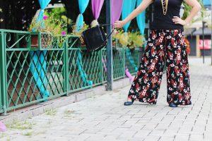 Molde de calça pantalona