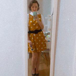 Aprenda a fazer um vestido trapézio com molde grátis