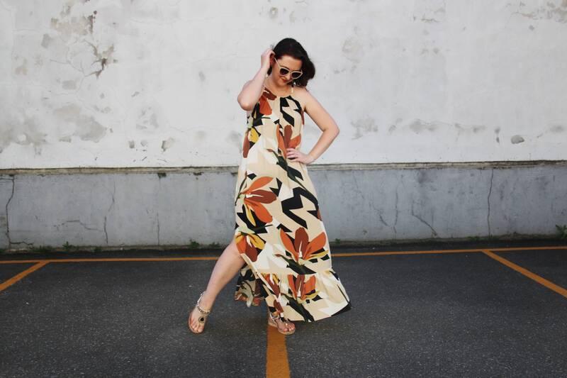 Como fazer um vestido amplo longo com molde grátis
