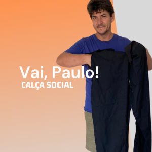 Calça social masculina – Molde gratuito